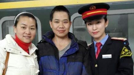 聋哑青年走失两个月 上海列车长热心帮寻亲