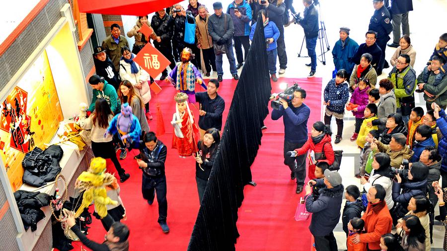浓浓年味至 海上风情展在上海群艺馆举行