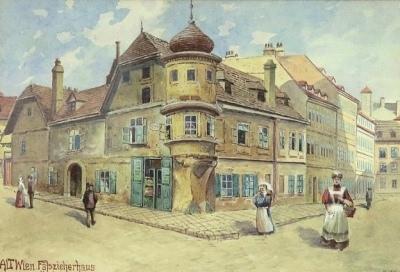 希特勒水彩画将拍 年轻时遭维也纳艺术学院拒绝