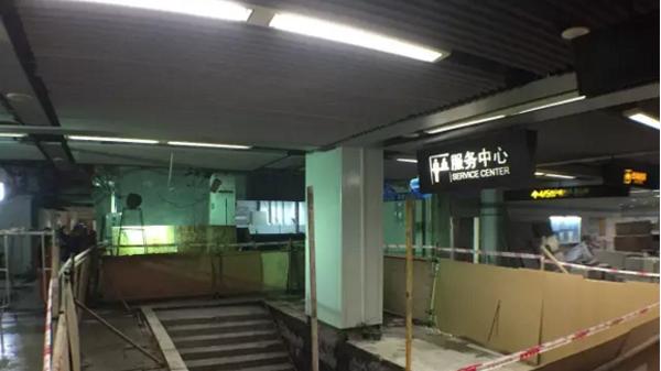沪轨交9号线漕河泾站改造进心中 2月22日起恢复