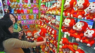 中国农历猴年是平年 共有355天比羊年多1天