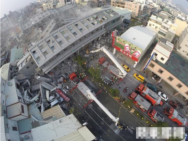 台南地震已致38人遇难 失联人数仍逾百