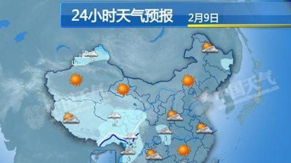 多地遇65年来最暖初一 明起中东部迎大范围雨雪