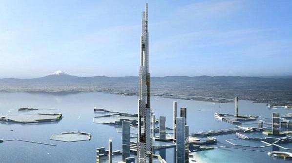 日本欲建1700米天空英里塔 将成世界第一高楼