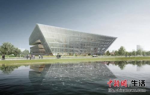 苏州第二图书馆开工建设 2018年将对外开放