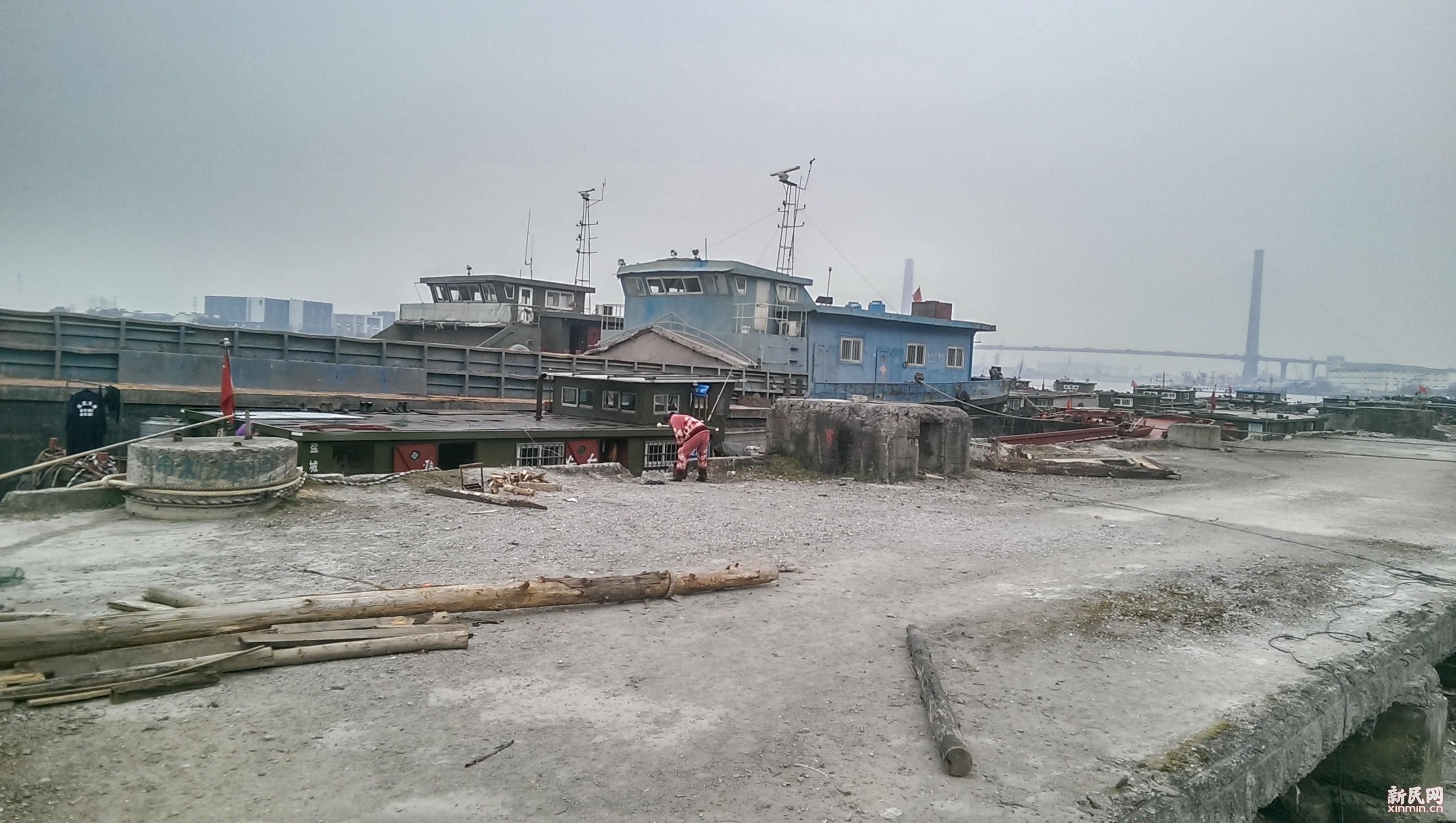 """黄浦江""""黑码头""""船舶扰民无人管"""