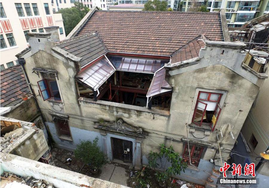 """上海日军慰安所""""海乃家""""旧址拆迁被叫停"""