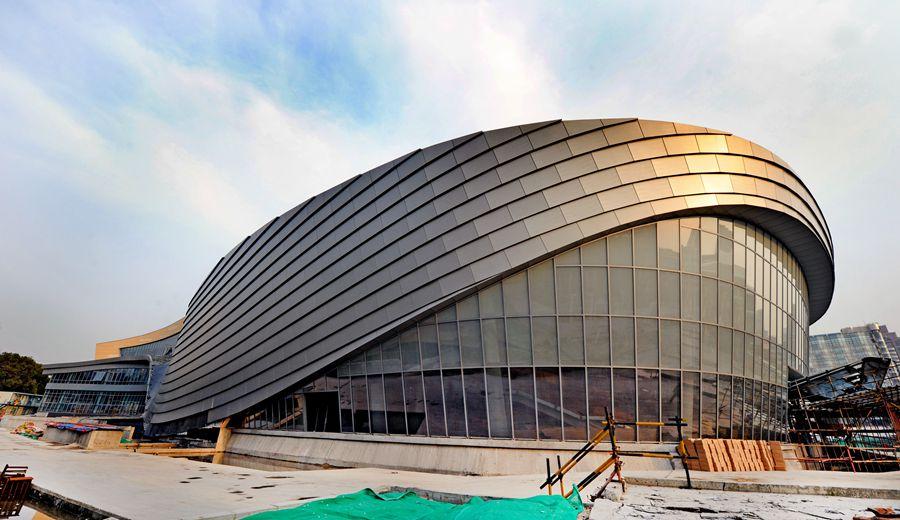 先睹为快!正在建设中的上海国际舞蹈中心