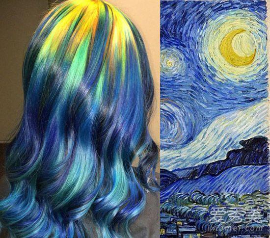 神艺缘缚美戈-而渐变发色也可以这样玩,美国堪萨斯州发型师厄休拉-戈夫(Ursula 图片
