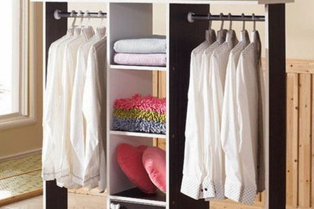 韩式衣柜内部结构