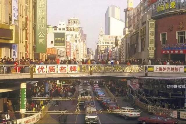 一座座天桥串起上海人的集体记忆!