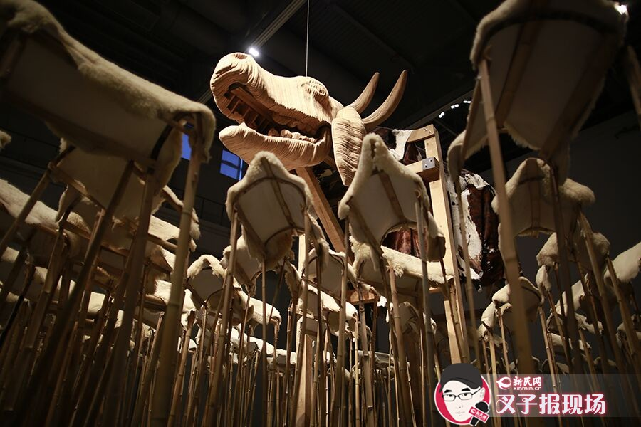 上海当代艺术馆迎来开馆至今最大规模装置展