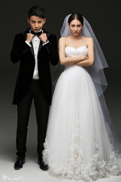 40大明星夫妻婚纱照哪家最丑