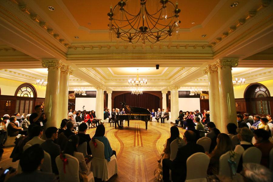 经典音乐会重回百年老饭店