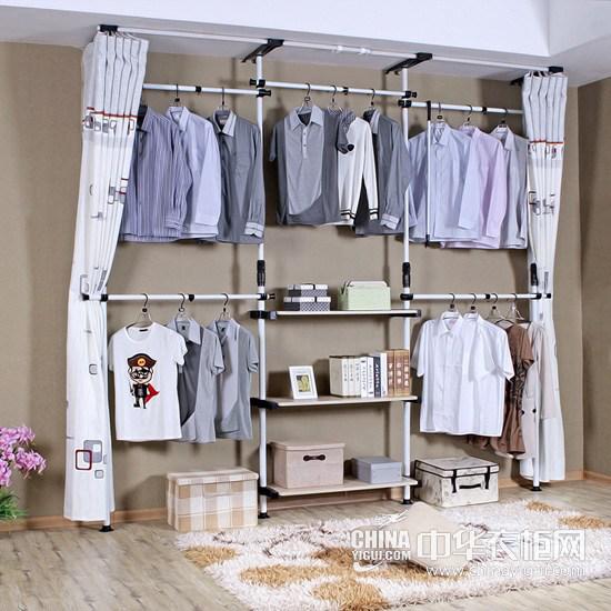 简易衣柜 提升卧室清新格调
