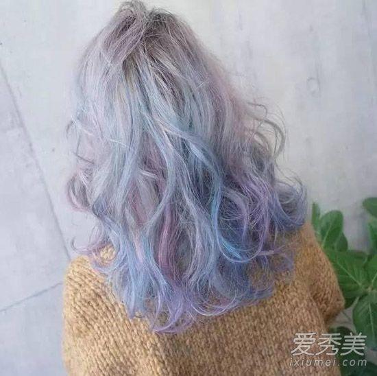 颜色染女生头发好看?5大颜色色系v颜色头发发型百度图片