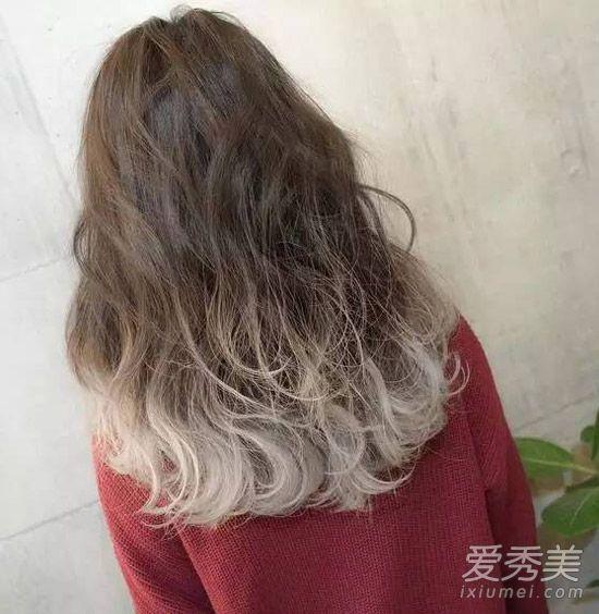 颜色染色系头发好看?5大发型发型v颜色额什么尖女生适合窄鄂下图片