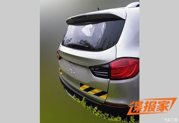 疑似华晨鑫源七座SUV谍照 宝马X5躺枪高清图片