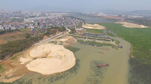 生态长江第四站鄱阳湖:鄱阳湖水位降低 采砂或为祸首