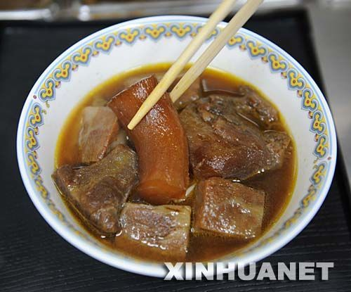 台湾天价牛肉面2000元一碗 看看里面有什么?(组图)