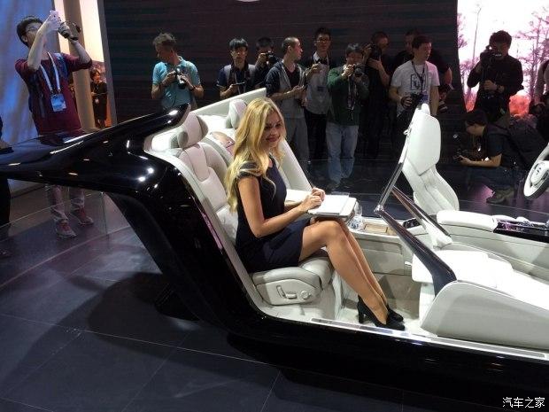 沃尔沃S90概念车内饰首发高清图片