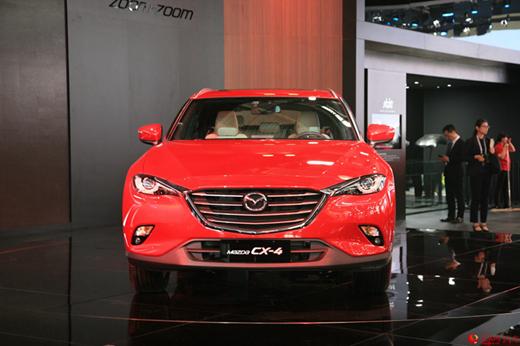 预售14.98万起 马自达CX-4即将开启预售