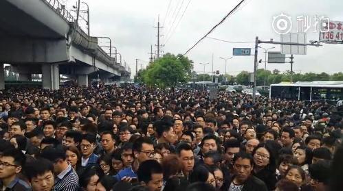 可怕!上海8号线故障监控画面曝光!