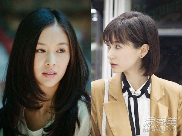 刘涛杨紫王子文 《欢乐颂》五美长短发判若两人图片