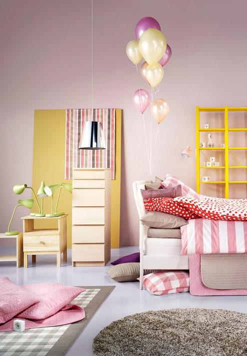 可爱小公主养成录 甜美粉色系儿童房