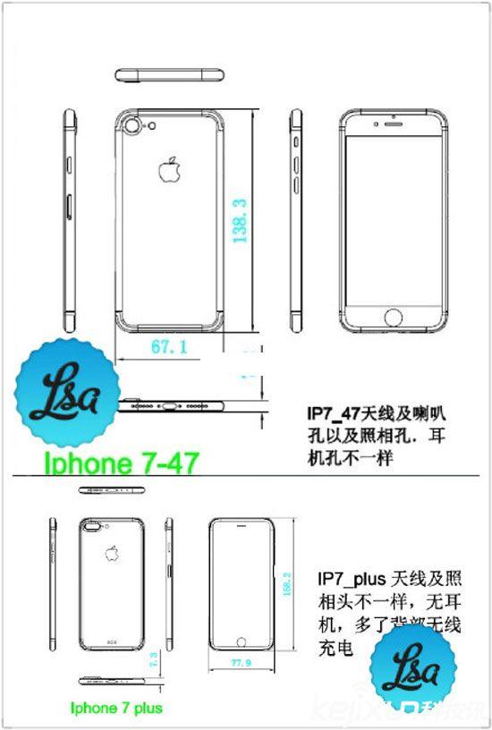 iPhone7真机再充电无线7Plusv无线坐标曝光_苹果和视频cad坐标图纸图片