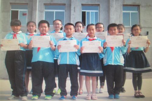 调兵十二小对读书征文和演讲比赛获奖学生表奖