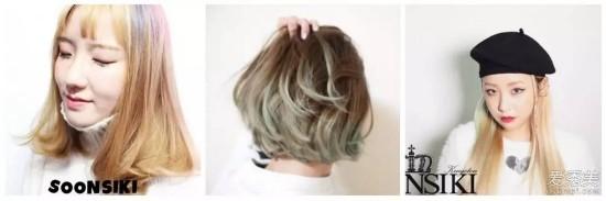 回头率100%!挑染 粉雾底色才是夏季最美发型图片