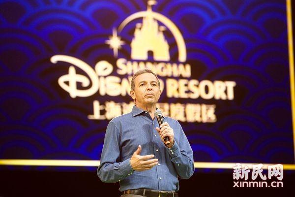 对话迪士尼CEO艾格:上海乐园扩建已启动 解决排队问题
