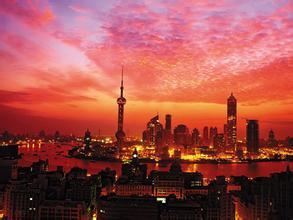 红色文化照亮摩登上海