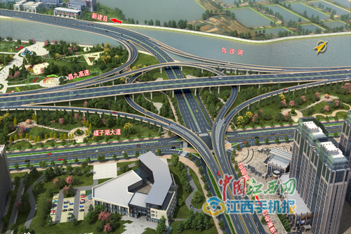 今晚起枫生高速车辆将走昌九快速路(红谷滩侧)