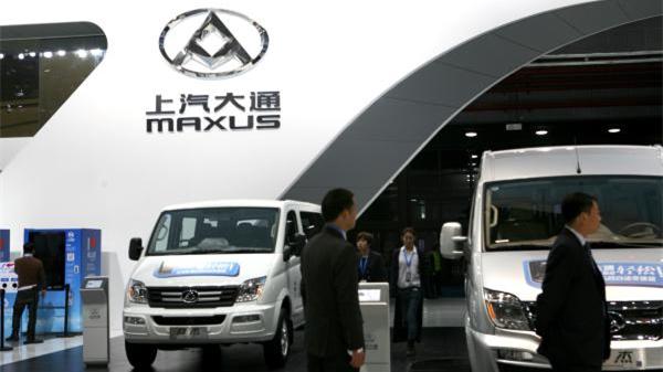 上汽大通向英国出口了3000辆轻客 英媒担心中国车商崛起