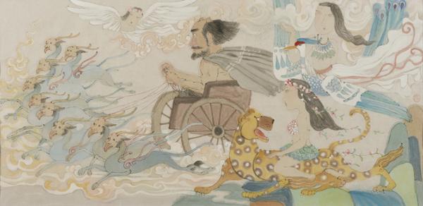 中国的 亚当 夏娃 长什么样 中华创世纪神话连环画创作之台前幕后