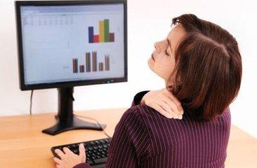 上班头疼头晕小心颈椎病 白领如何有效预防颈椎病