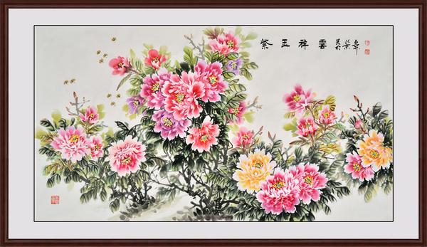家居装饰画 不同花鸟画题材寓意各有不同
