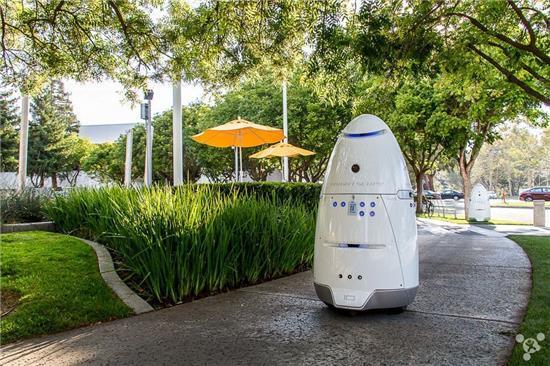 机器人保安问世:每小时巡逻成本不到7美元