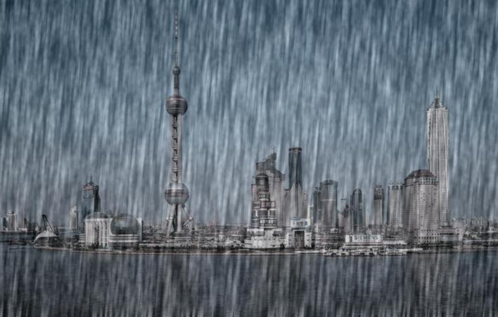 上海人注意!周日起连续3天大到暴雨!