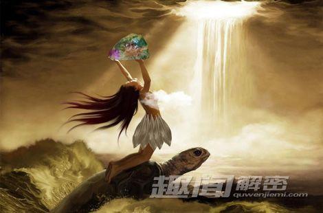 """史传/中国古代有""""三皇五帝""""的传说,伏羲和女娲都是""""三皇""""之一。"""