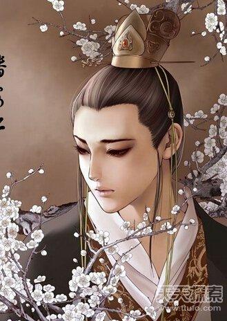 中國古代四大美男子的死因圖片
