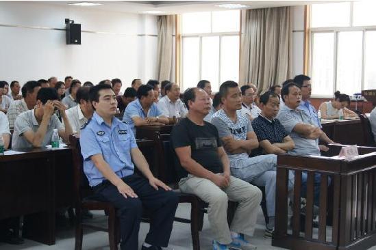 杨陵区一村干部集体贪污案开庭