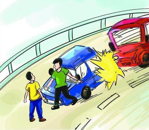 高速换胎妻被撞亡 高速上遇到险情你会如何处置?