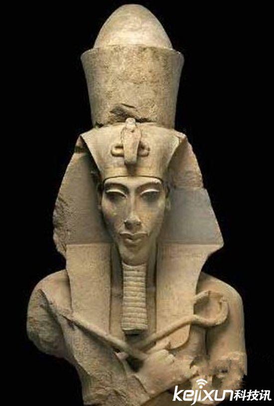 古埃及法老怪异长相 是否为外星人后代图片