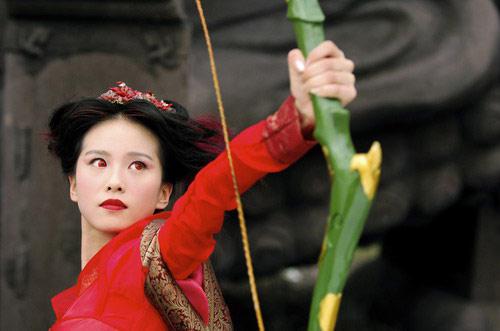 睛的便是女主角赵丽颖了.饰演鲤鱼精红绫的赵丽颖,角色定位很图片