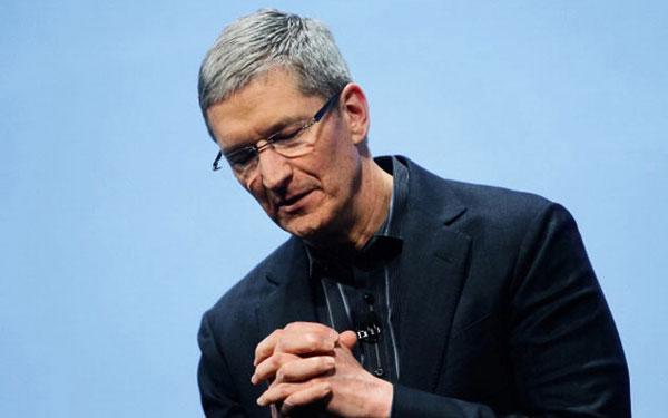 中国不再是苹果第二大市场 但库克说不会削减投资
