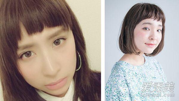 夏季流行5款刘海发型