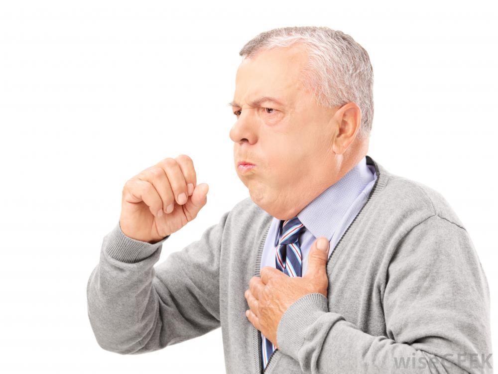 有些咳嗽,药诱发的